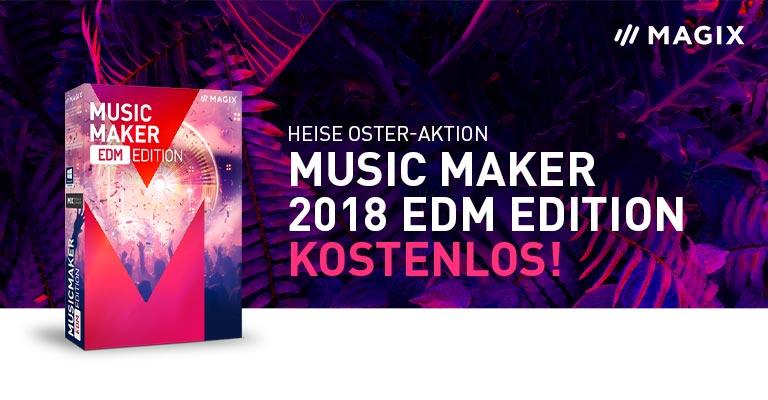 MAGIX Music Maker EDM Edition y Rock Edition