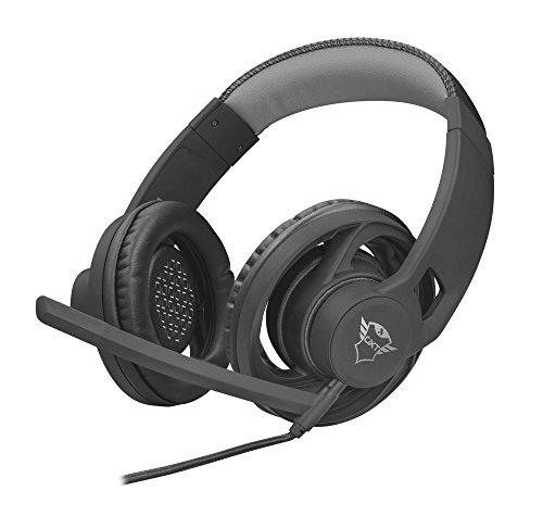 Trust Gaming GXT 333 Goiya - Auriculares Gaming, Color Negro
