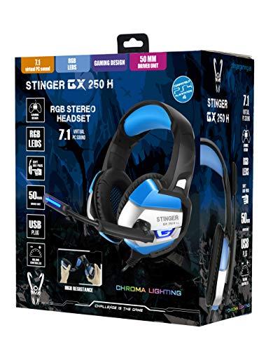 Auriculares Stinger GX-250 H