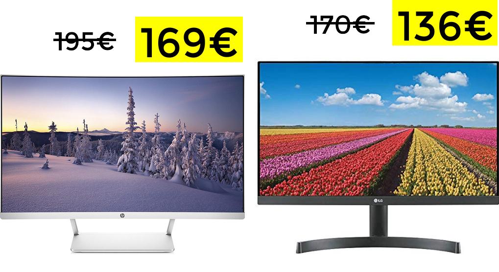 """Preciazos en monitores HP y LG 27"""""""