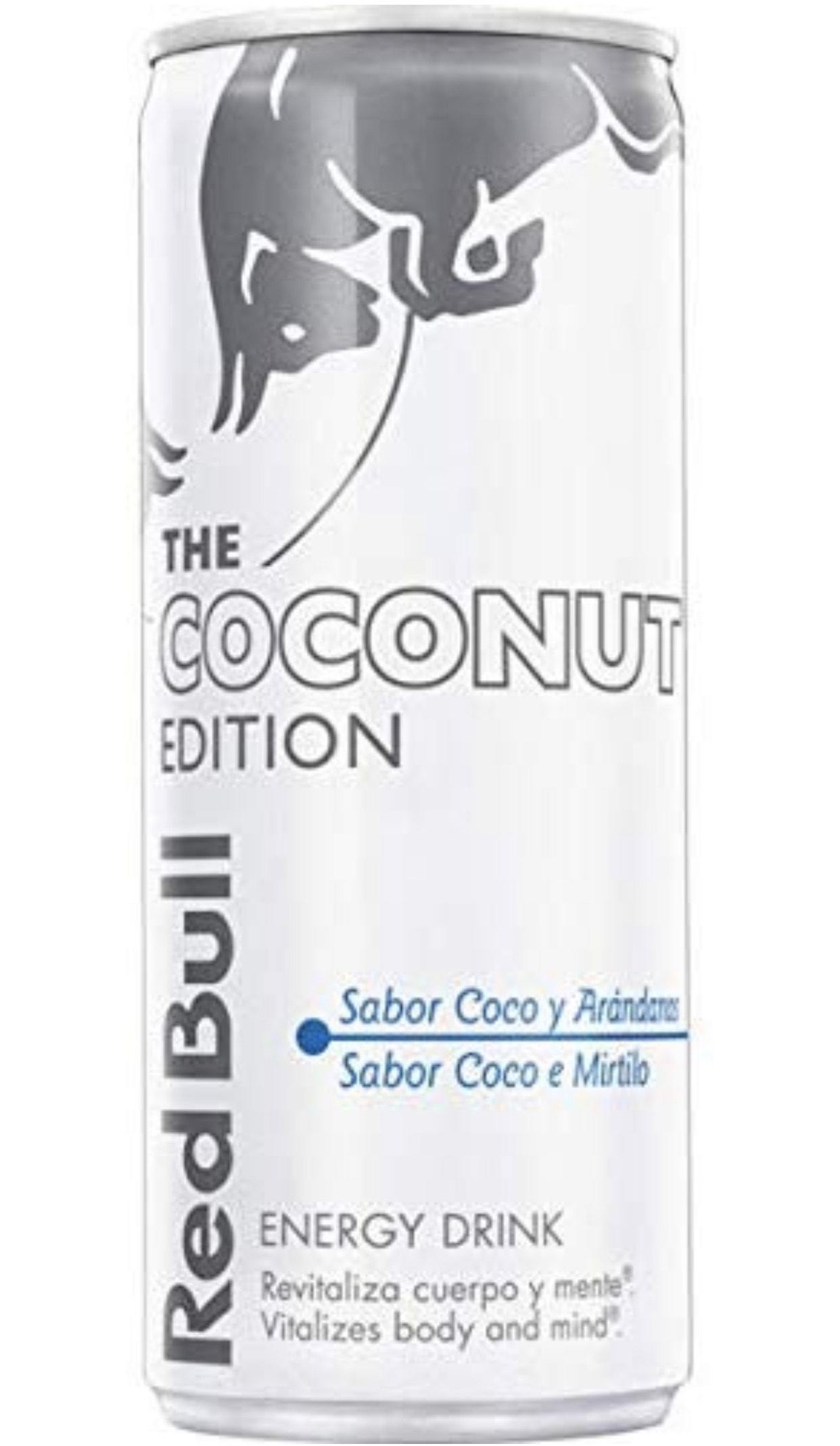 Redbull Coconut Edition