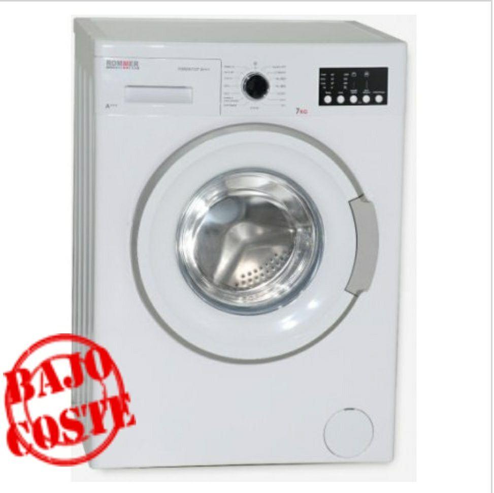 Lavadora Rommer FORZA 1127 1000RPM Blanco 7KG A+++