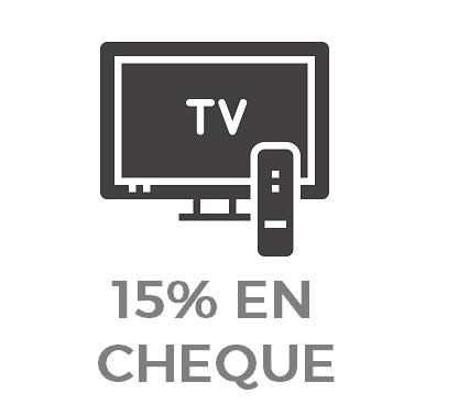 """15% en cupón Carrefour en TVs Philips y Samsung de 43"""" o más"""