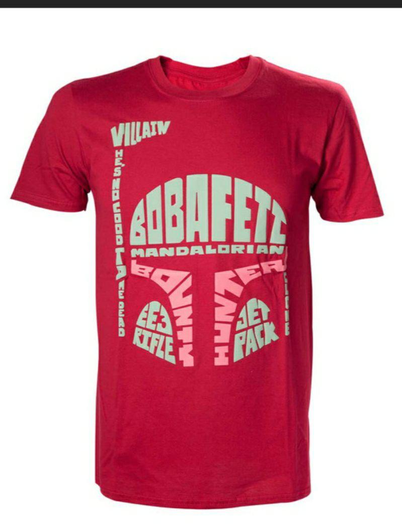 Camiseta Star Wars Boba Fett . TALLA L