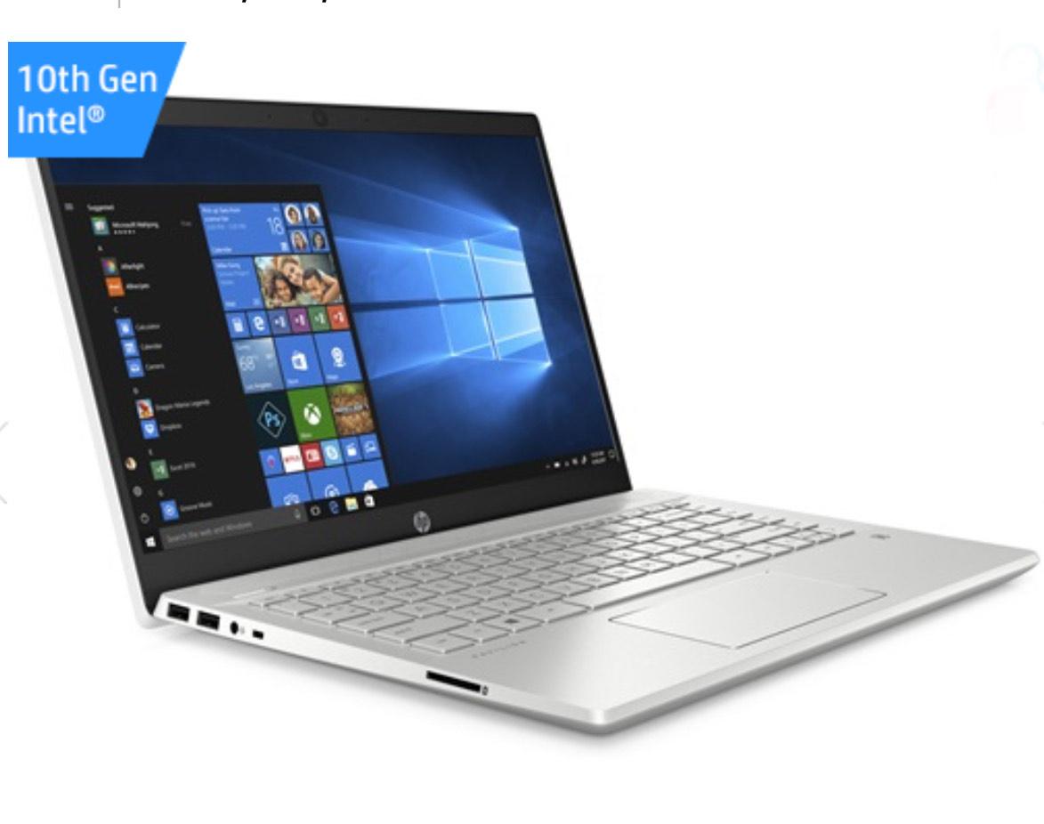 "Portatil 14 "" HP Pavilion i5-1035G1, 8Gb, 512Gb SSD, GeForce® MX130 (GDDR5 de 2 GB dedicada)"