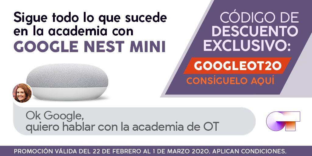 GOOGLE NEST MINI y GOOGLE HOME - DESCUENTO 20 €