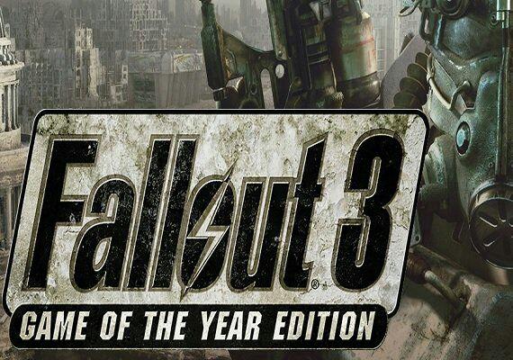 Fallout 3 GOTY Steam Sólo 3,33€