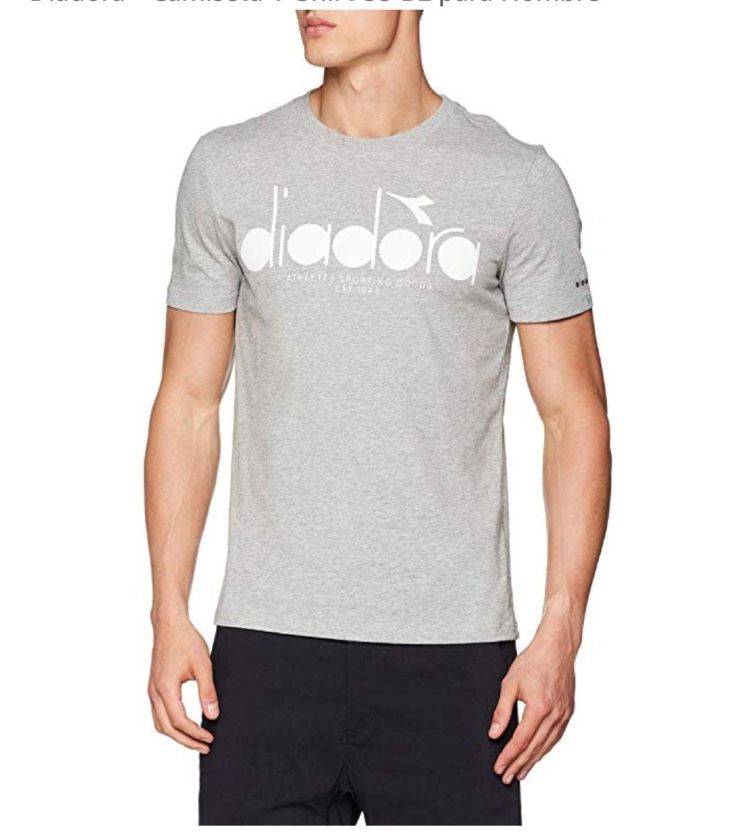 TALLA S - Diadora - Camiseta T-Shirt SS BL para Hombre