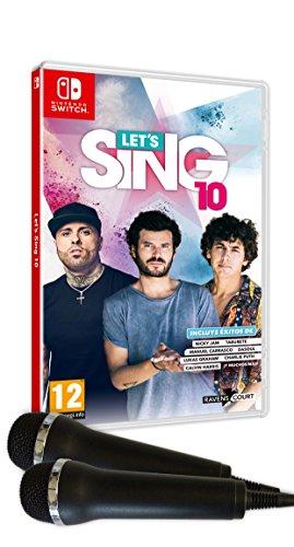 Let's Sing 10 + 2 Micrófonos [Nintendo Switch]