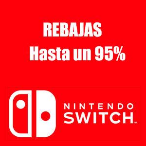 Nintendo Switch :: +490 juegos hasta un 95% descuento