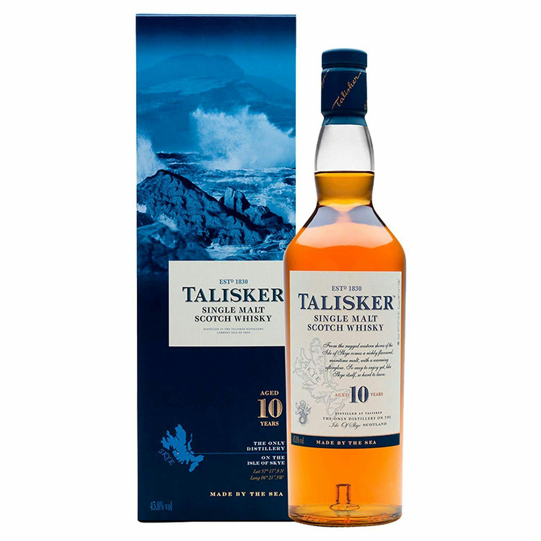 Talisker 10 Whisky Escocés 700 ml