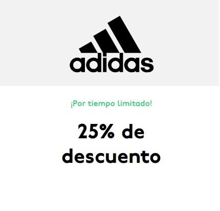 25% de descuento en Adidas para estudiantes