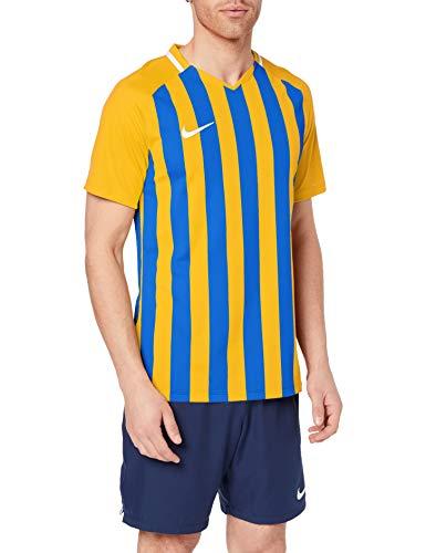 Nike Striped Division III SS Top de Manga Corta, Hombre talla L.