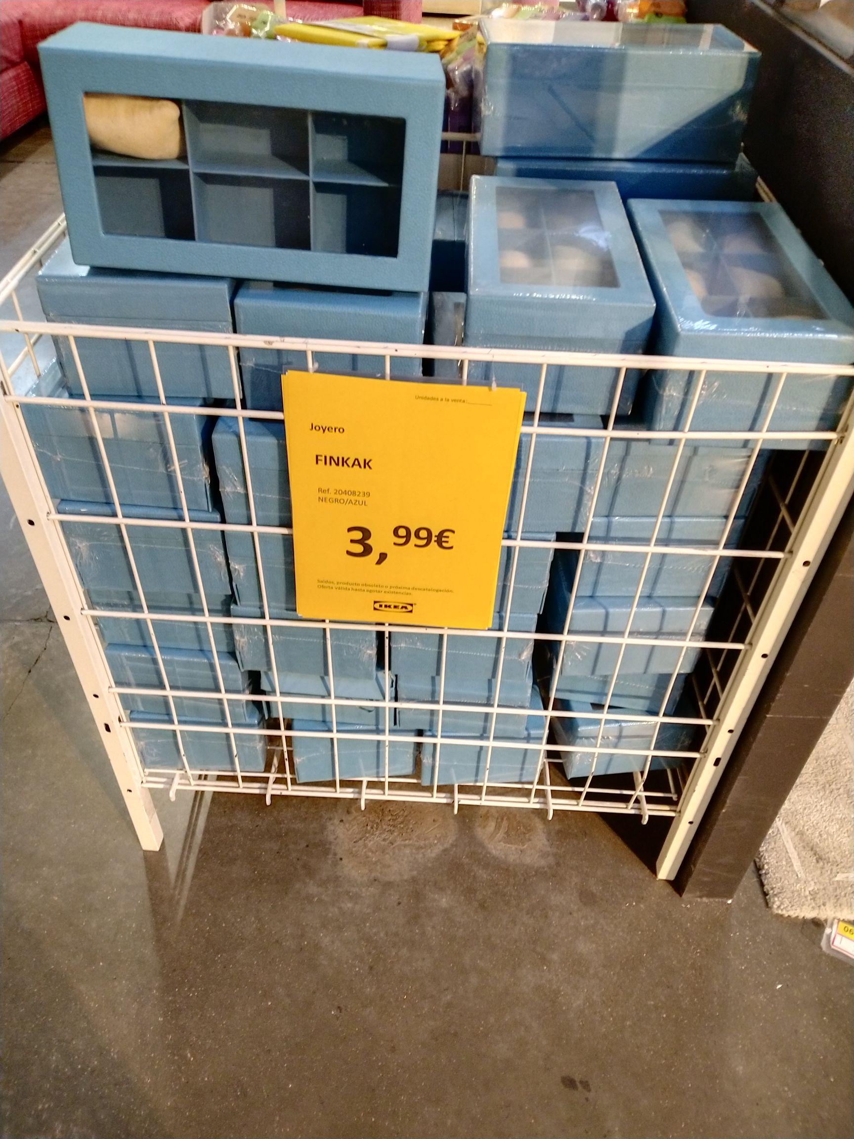 Joyero de 6 compartimentos en la sección de oportunidades de IKEA Jerez de la Frontera