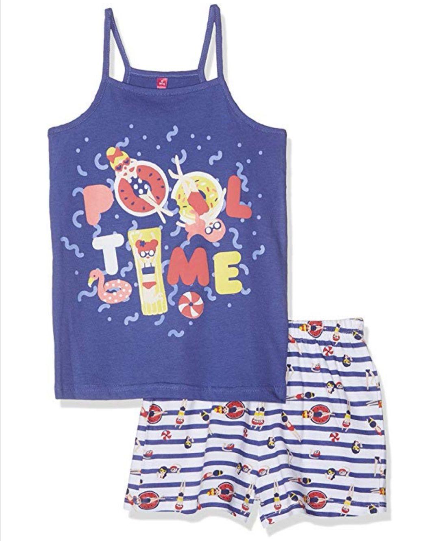 Pijama para Niñas 100% Algodón.