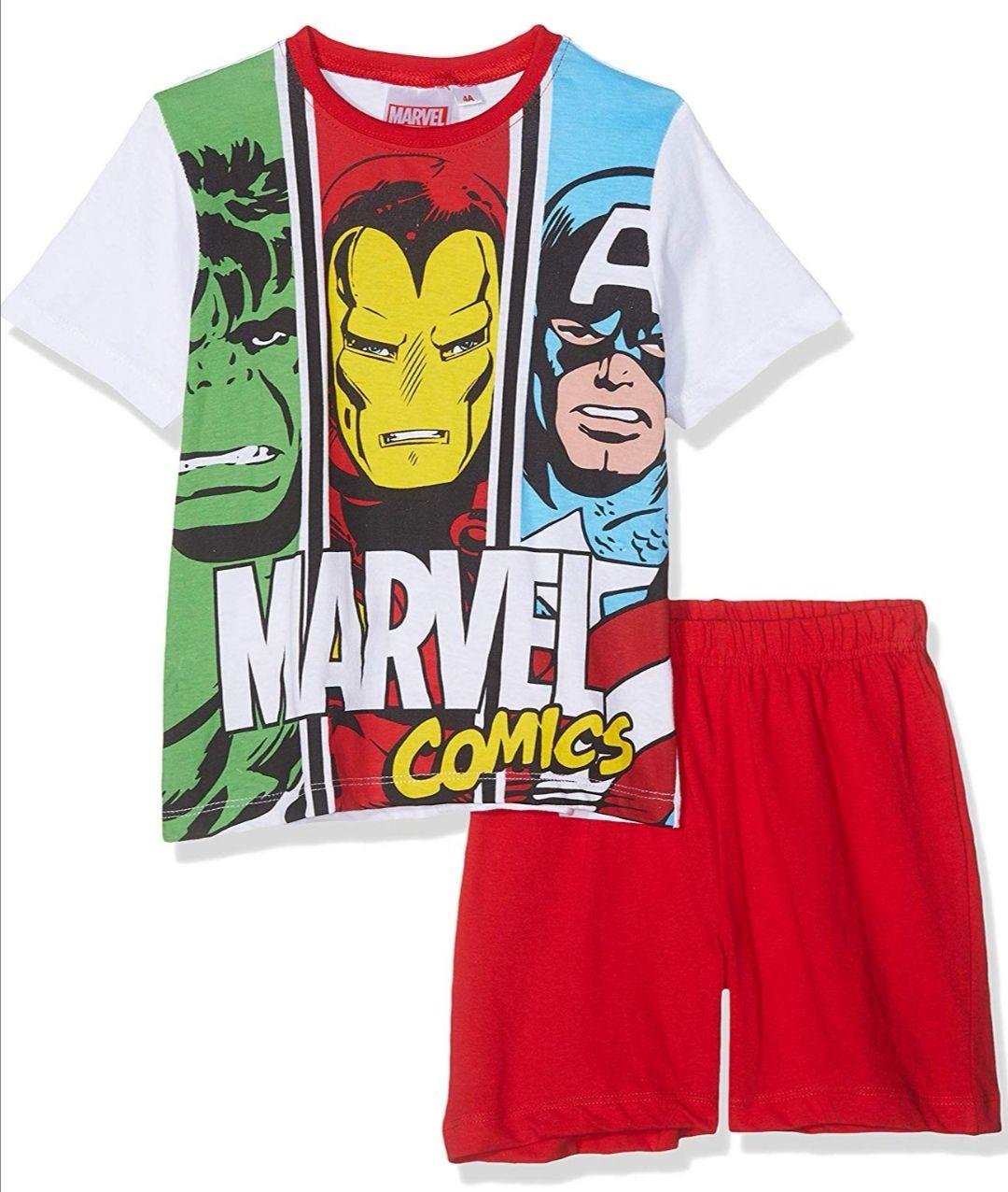 Marvel Avengers Conjunto de Pijama para Niños 100% Algodón.