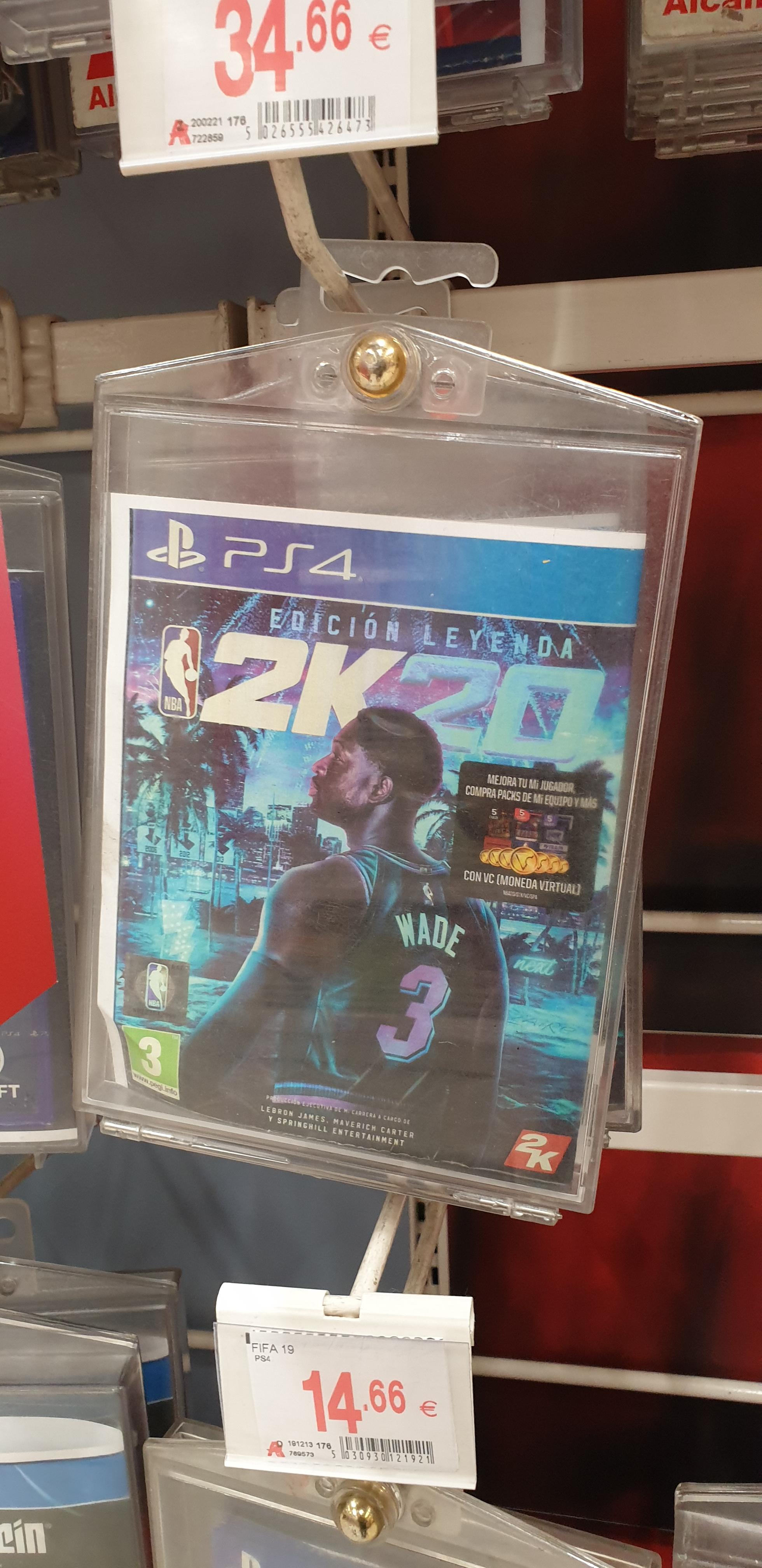 NBA 2K20 Edición Leyenda PS4 Alcampo Loranca