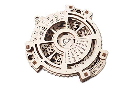 Ugears rompecabezas calendario mecánico de madera