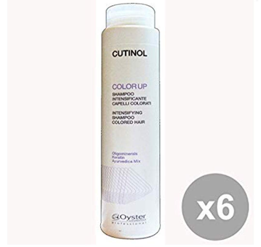 cutinol Shampoo color-up–Lote de 6x 50g