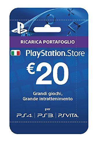 Sony Playstation Live Cards 20€ (ITALIA)