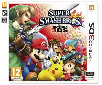 Super Smash Brosh para Nintendo 3DS y 3DSXL en Alcampo Castellón