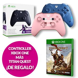 Mando Microsoft con juego Titan Quest de regalo