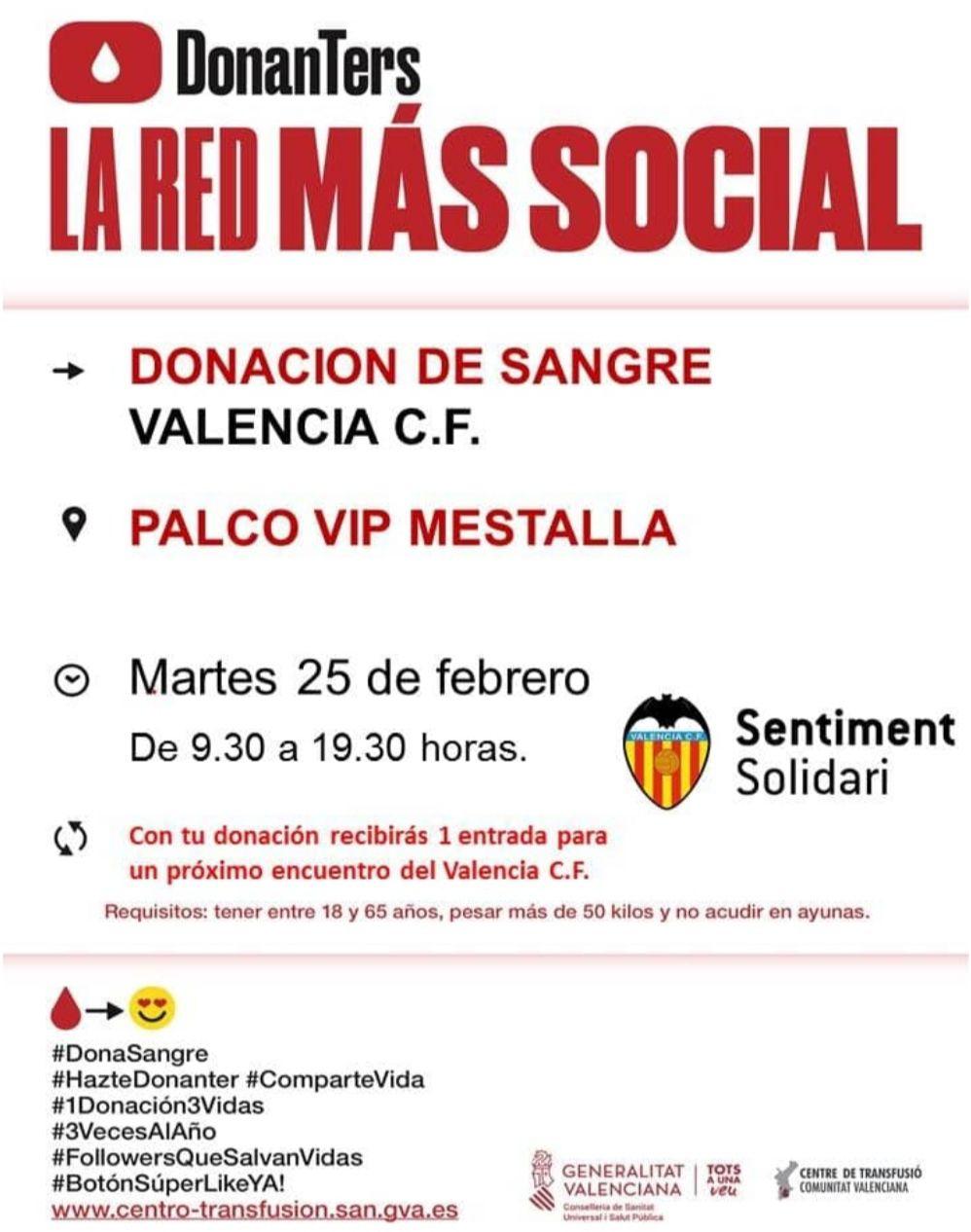 Entrada gratis para ver el Valencia en LaLiga