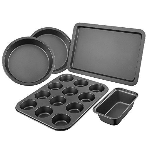 Juego de Moldes de Cocina Deik Essential de 5 piezas para hornear