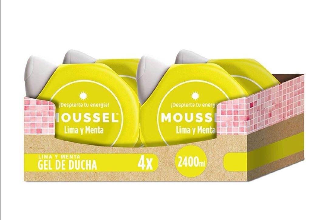Moussel Gel Ducha Lima - Pack de 4 x 600 ml - Total: 2400 ml . Con compra recurrente 8.88 €.