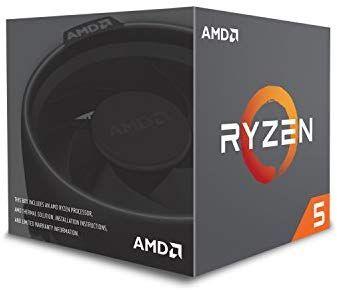 AMD Ryzen 5 2600X MAX - Procesador (AMD Ryzen 5, 3,6 GHz, Zócalo AM4, PC, 12 NM, 2600X, disipador RGB incluido)