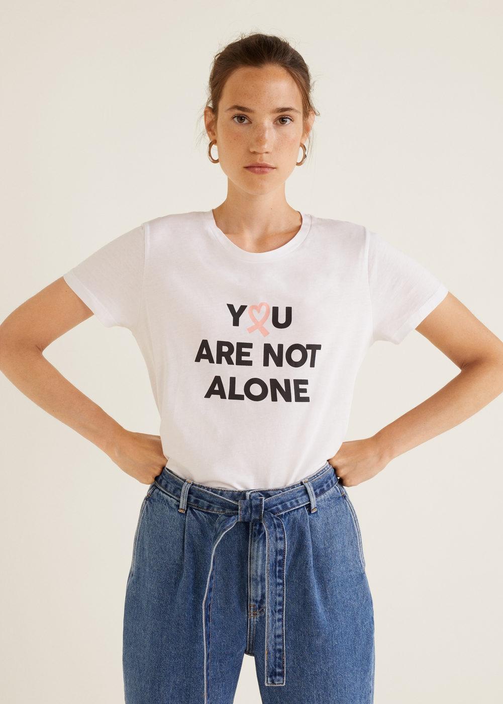Camiseta solidaria Mango talla S
