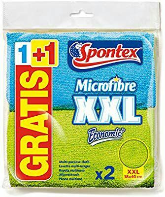 2 Bayetas de Microfibra Spontex XXL sólo 1€