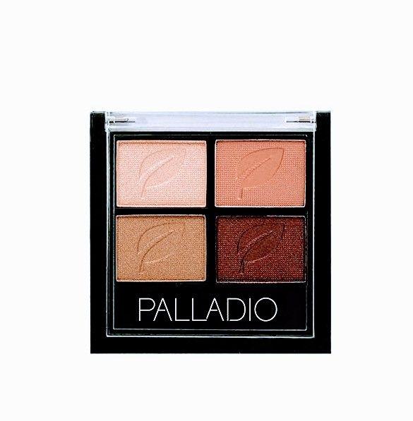 Palladio Paleta de sombra de ojos 4 tonos.