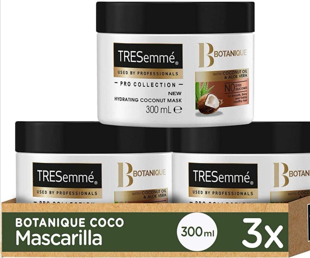 TRESemmé Mascarilla Botanique Coco - PACK DE 3 x 300 ml - Total: 900 ml( compra recurrente 10.26€)
