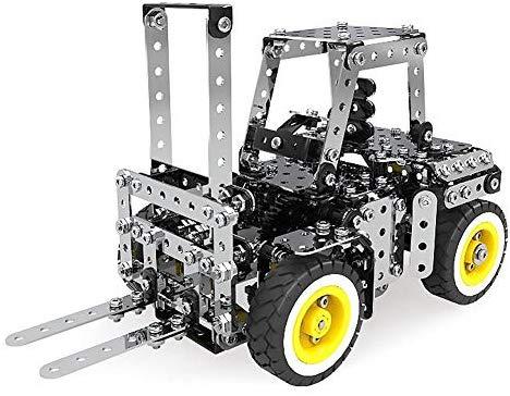 Rompecabezas 3D para Niños STEM Learning Toy, Kit de Carretilla Elevadora DIY, 589PCS