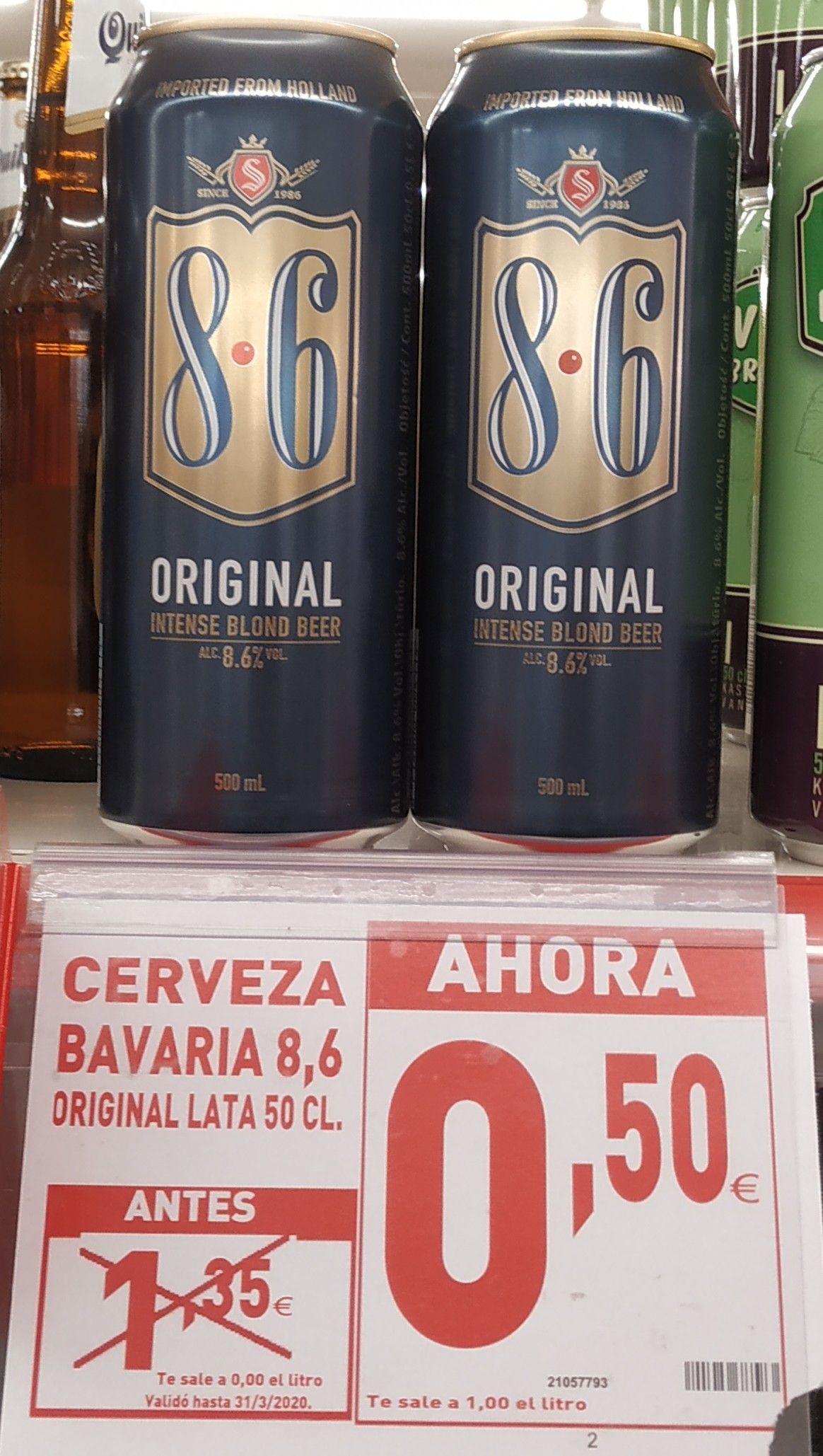 Cerveza BAVARIA 8.6 (50 cl) en SIMPLY