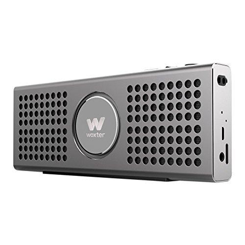 Woxter Big Bass BT-20 Ultracompacto de Aluminio, 10W (Bluetooth)