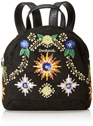 Desigual 19WAKA03 - Bolso mochila de Sintético Mujer 20x8.5x20.5 cm