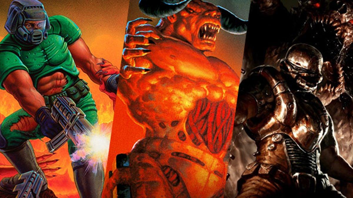 Preciazos en los juegos de Doom en Switch