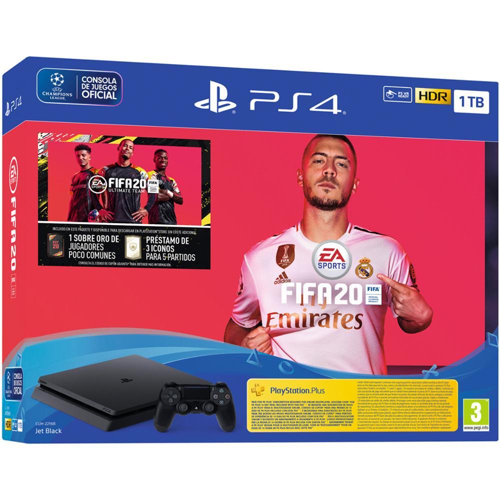 Consola Playstation 4 1Tb + Fifa 20 + 14 Days Psn