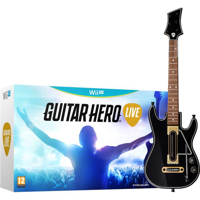 Guitar hero live + guitarra Wii U (Mínimo histórico)