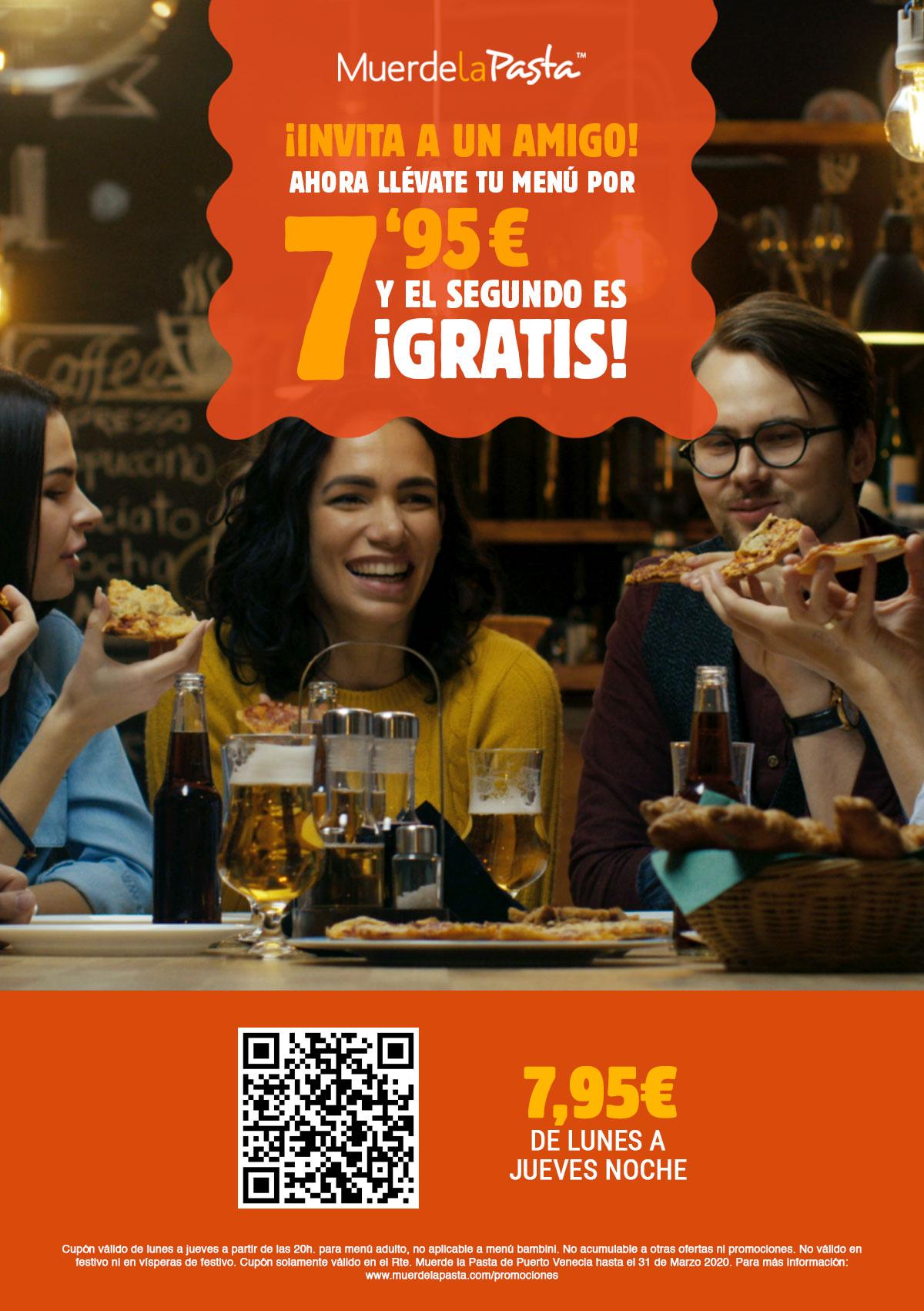 Invita a un Amigo | Muerde La Pasta Puerto Vencia (Zaragoza)