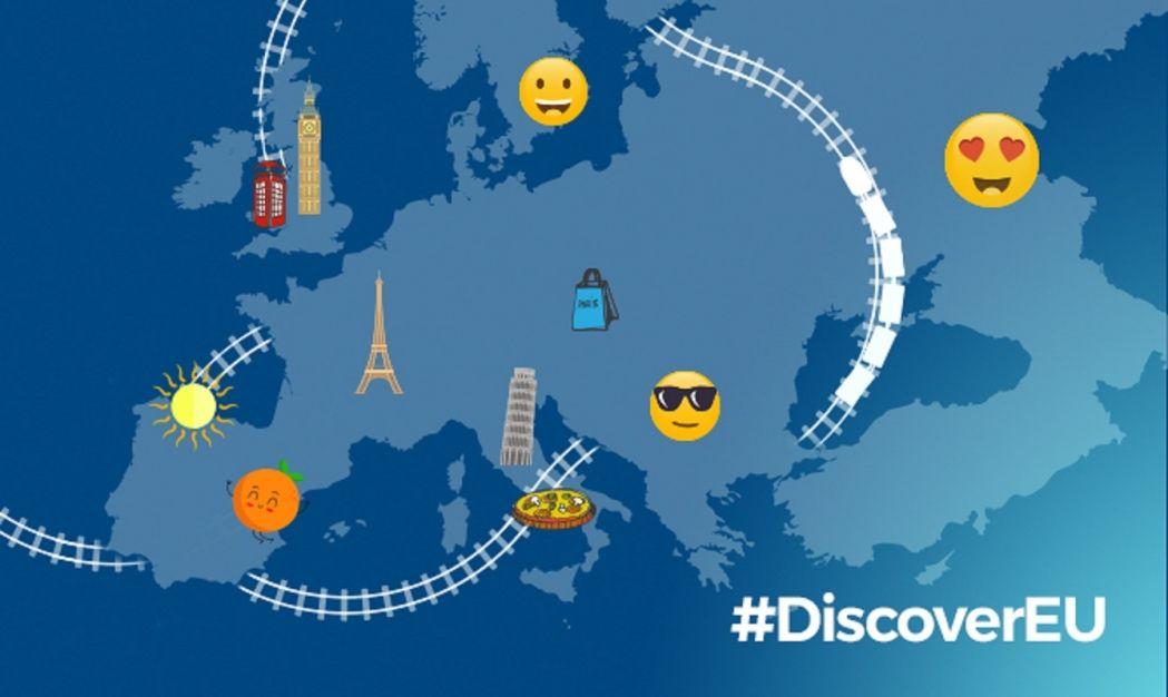 DiscoverEU interrail (desplazamiento) para jóvenes de 18 años