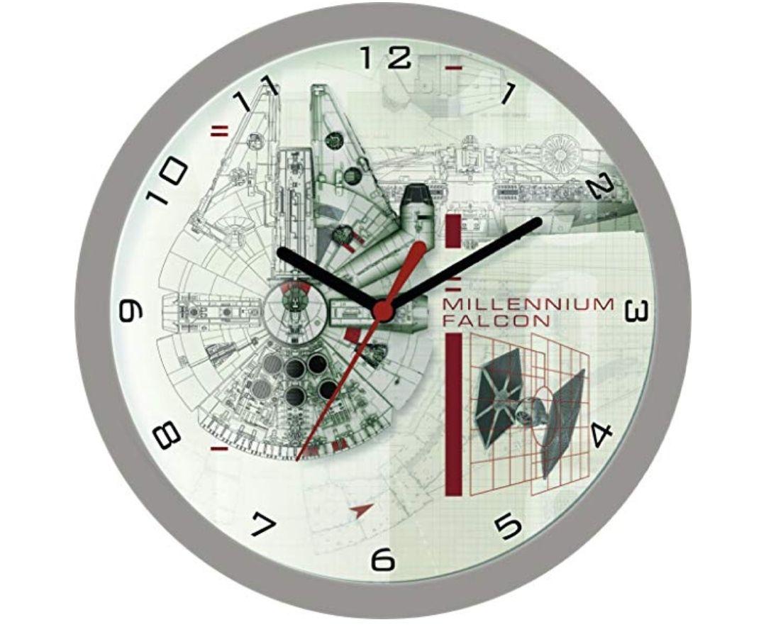 reloj de pared del Halcón Milenario deStar Wars