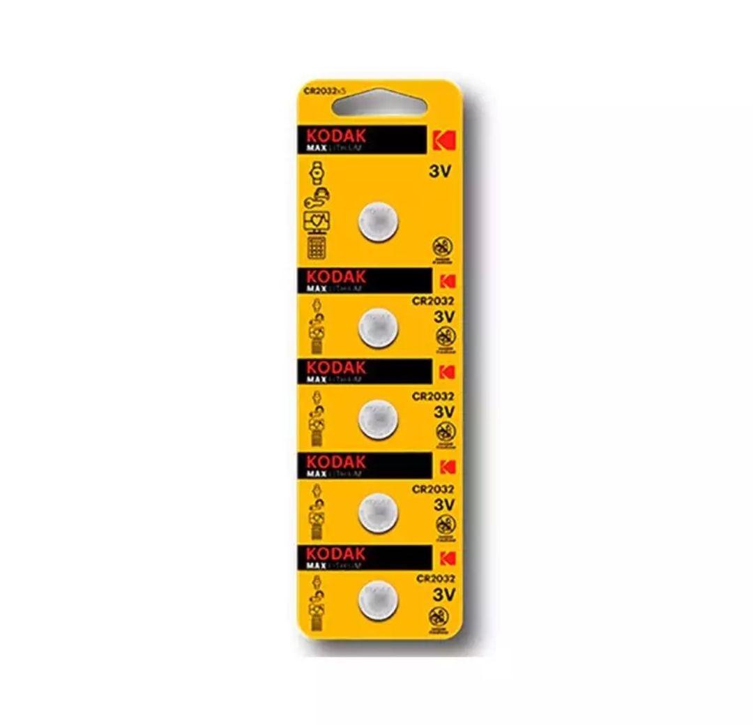 Pila Boton Kodak Litio Kdcr2032*5 3.volt Pack 5 unidades (ALIEXPRESS PLAZA)