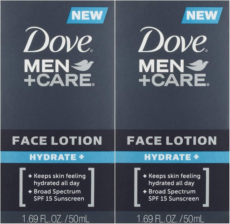 2 botes de hidratante facial Dove
