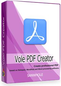 Vole PDF Creator Professional LTUD [GRATIS]