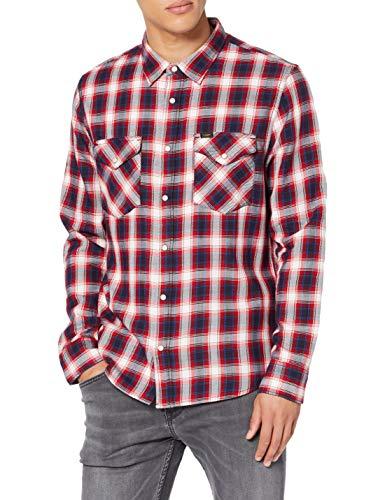 Lee Clean Western Shirt Camisa para Hombre talla S.