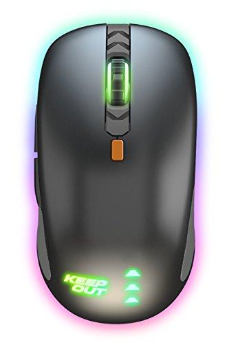 Keep Out Gaming X5Pro - Ratón (hasta 4000 dpi) RGB