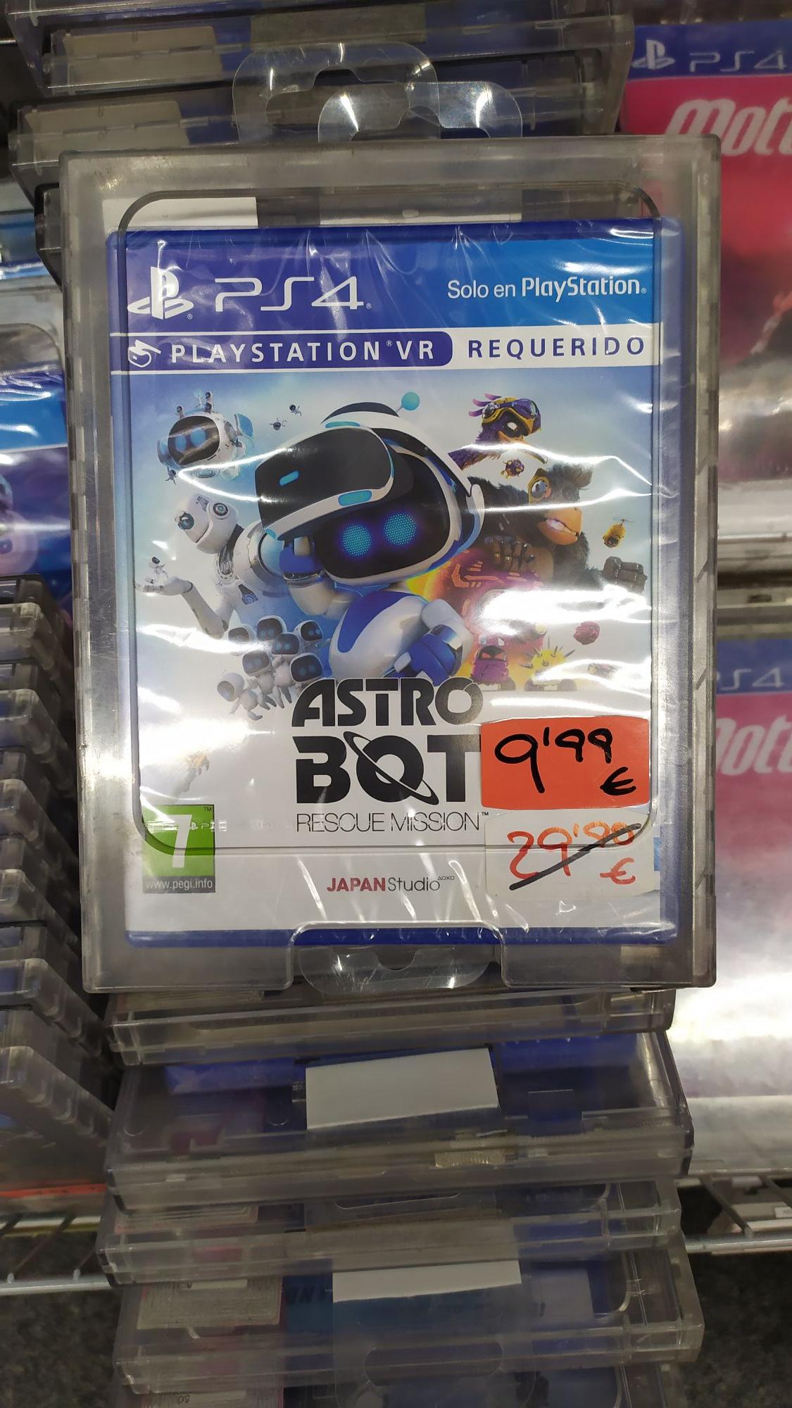 Astro Bot físico Media Markt